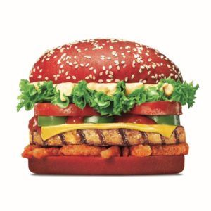 Angriest Whopper Chicken Red Bun