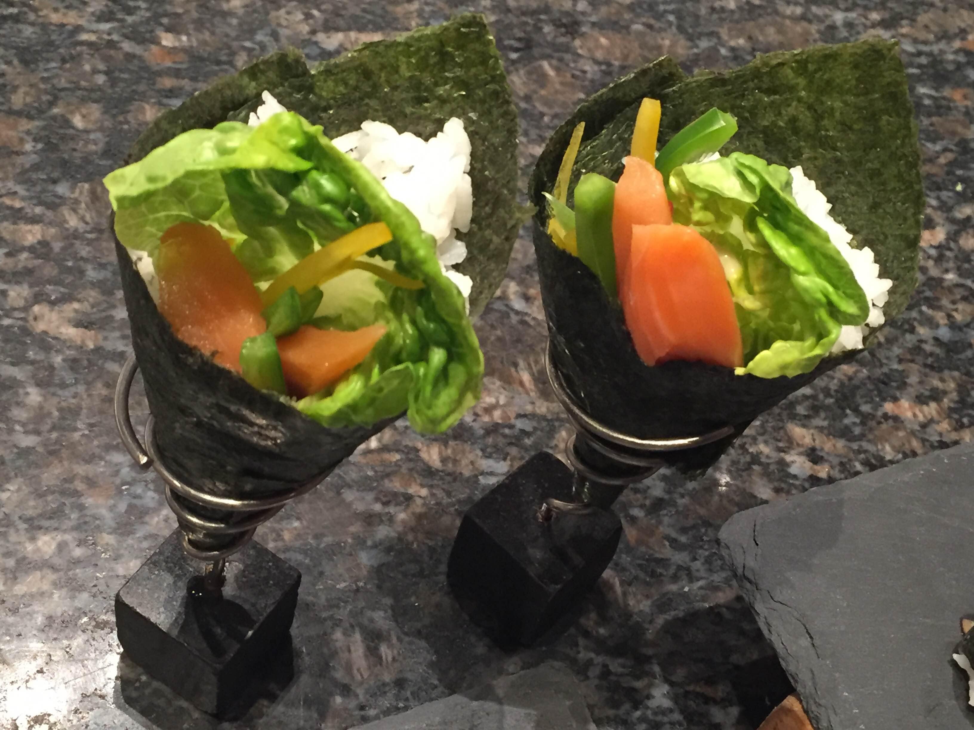 Temaki Sushi - up close