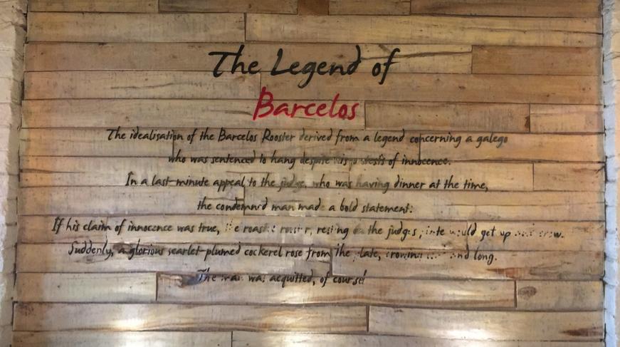 The Legend of Barcelos, Hauz Khas Village
