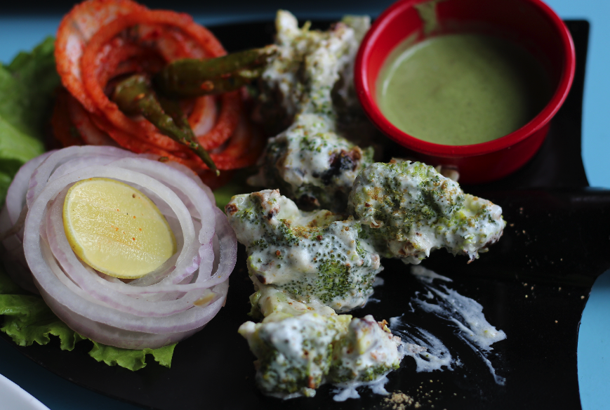Broccoli Malai Kebab