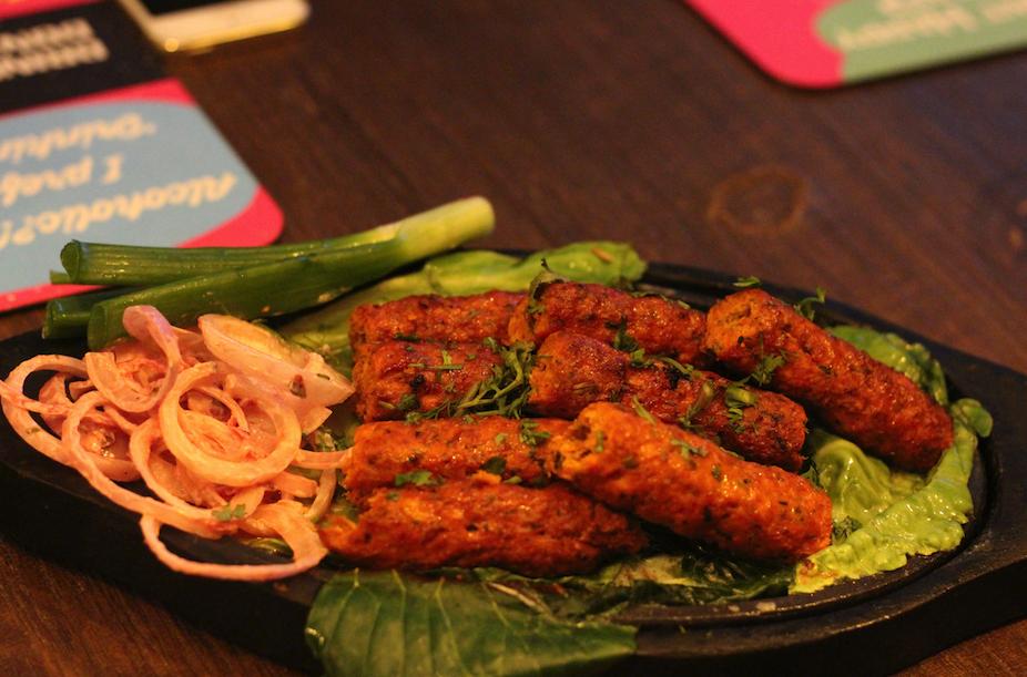 Gosht Seekh kebab