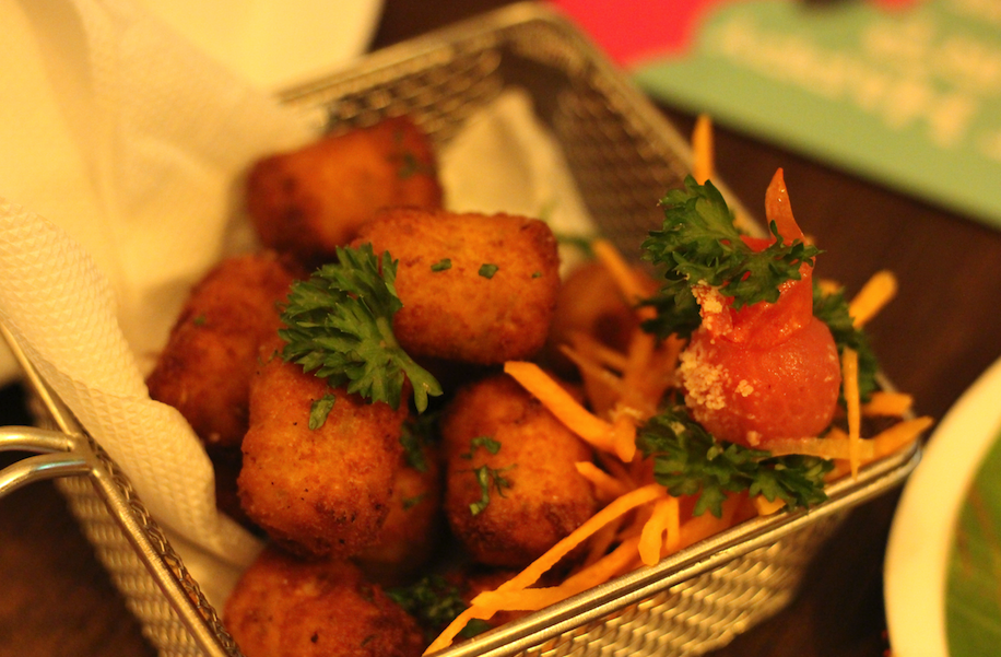 Panko Cheese Poppers