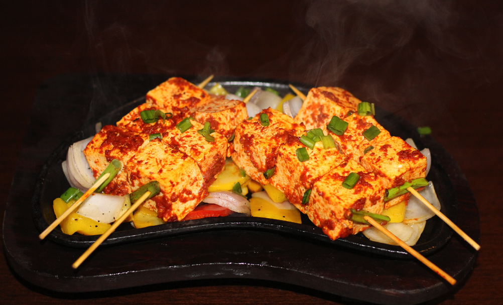 Harissa Cottage Cheese Sizzlers