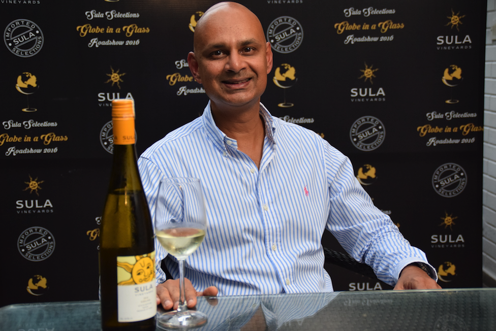 Rajeev Samant, Founder and CEO of Sula Vineyards